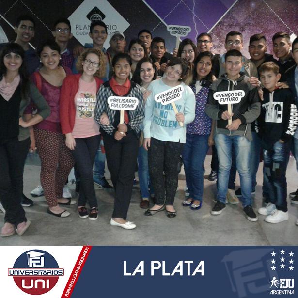 FJUNI La Plata visita el museo de la Ciudad