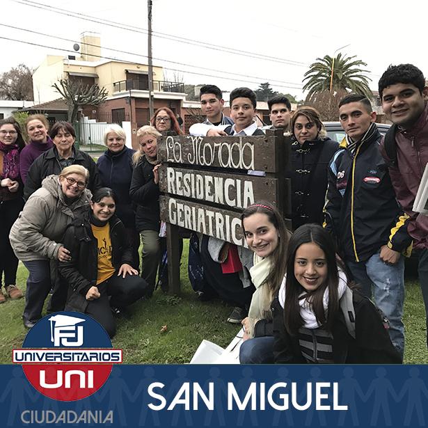 FJU San Miguel realiza una visita especial