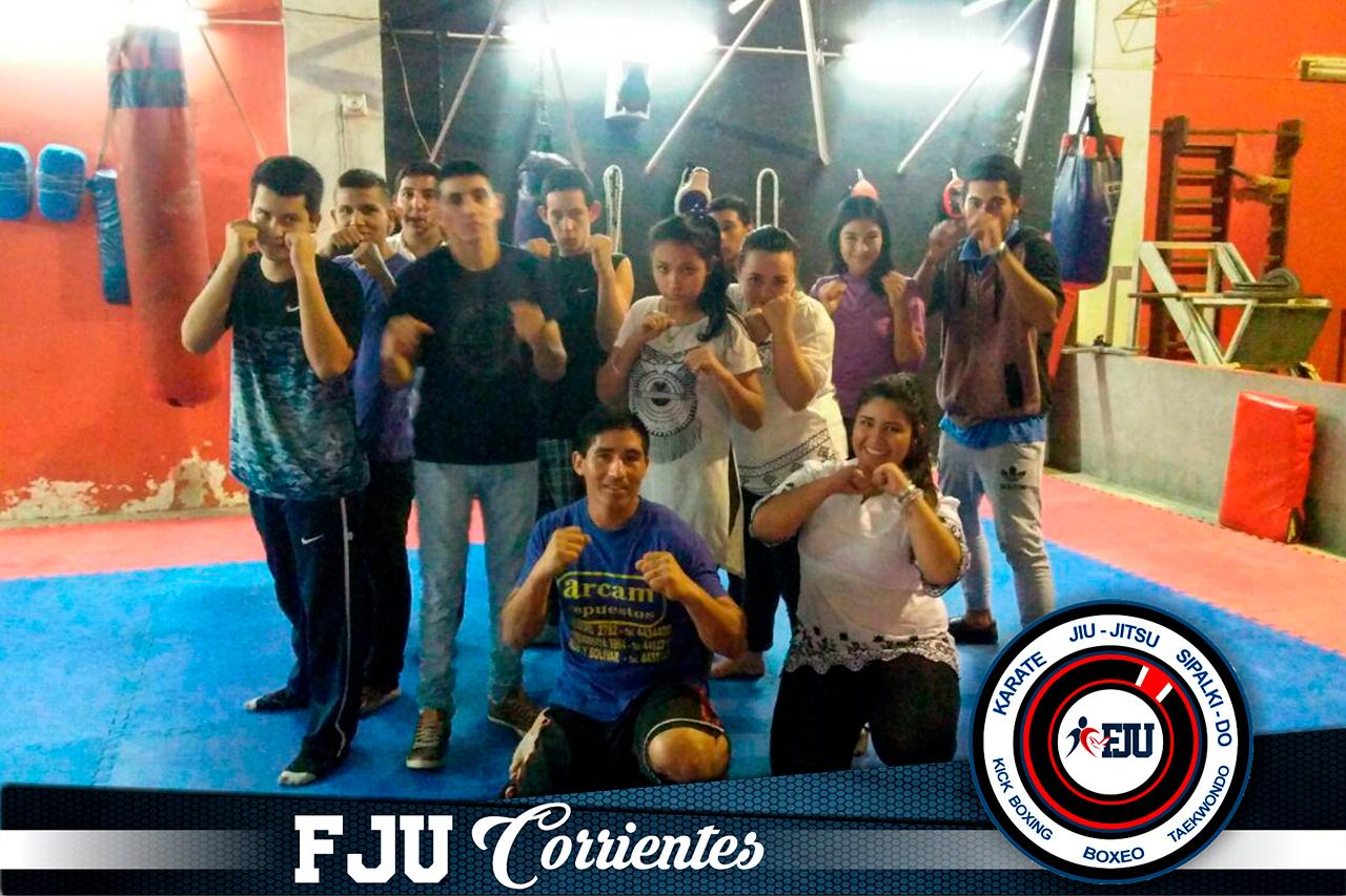 Deportes de contacto en Corrientes