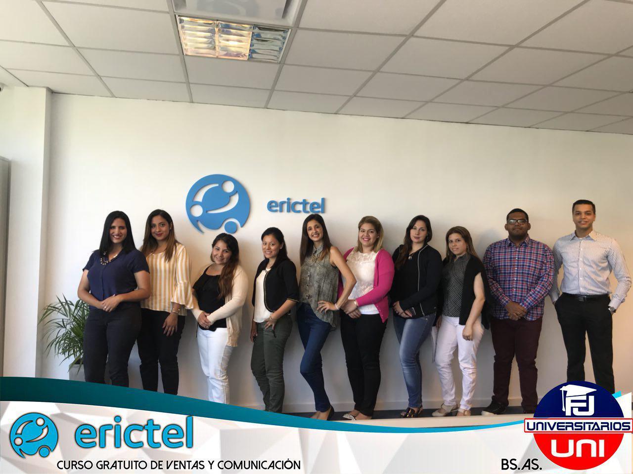 Proyecto Universitarios + Erictel