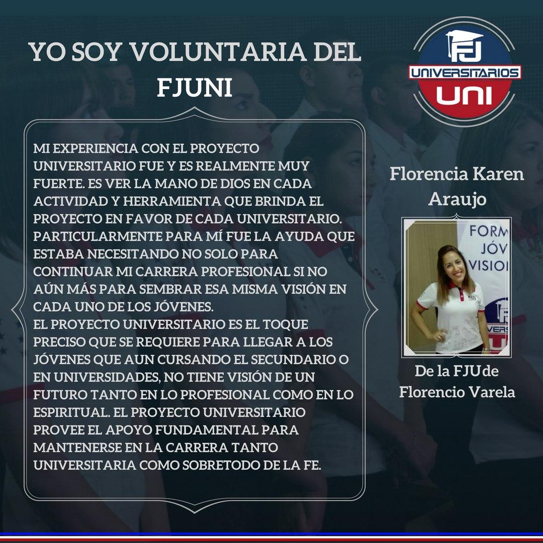 Voluntarios del Proyecto Universitarios