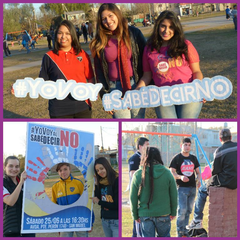 Evangelización creativa en San Miguel