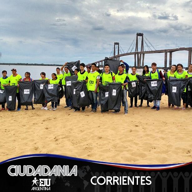 FJU Corrientes presente en la Costanera