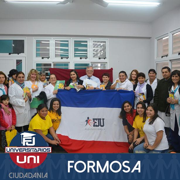 La FJU Formosa visito la escuela n° 136