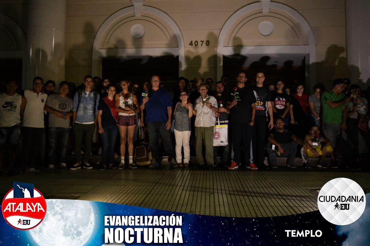 Evangelización Nocturna – Atalayas y Ciudadanía – Marzo