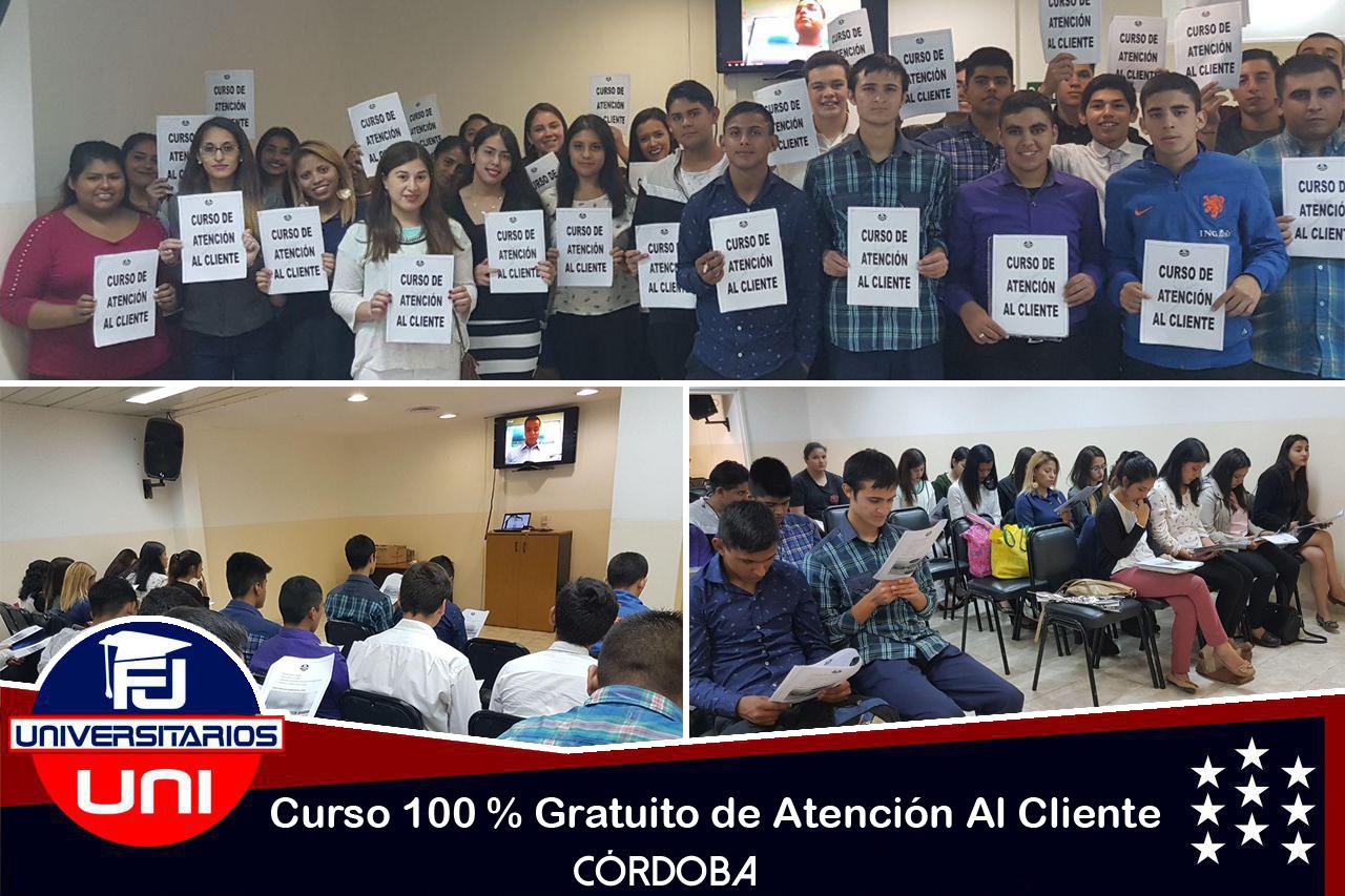 Curso gratuito de Atención al Cliente en la FJU de Córdoba
