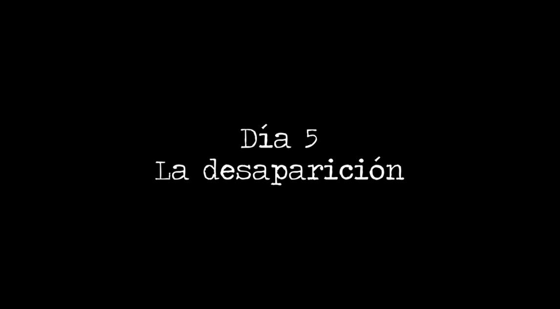 Miniserie 5 dias – Capítulo 5